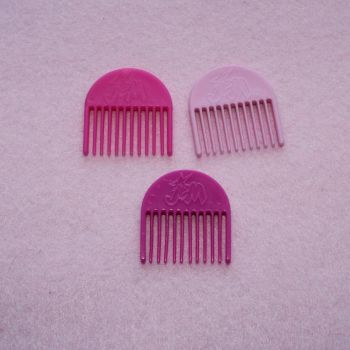 Authentic Jem Hasbro Items - 3 combs PACK A