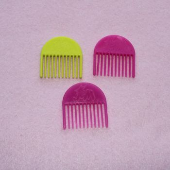 Authentic Jem Hasbro Items - 3 combs PACK B
