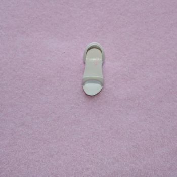 Authentic Jem Hasbro Items - Single Jerrica GLiter and Gold White Sandal