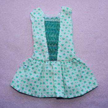 Unknown Green heart dress