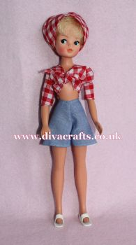 Handmade by Cazjar Pedigree Sindy Fashion - Reproduction Inspired Beachcomber 44148