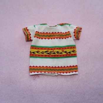 Barbie aztec print benetton tshirt