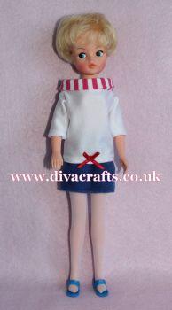 Handmade by Cazjar Pedigree Sindy Fashion - Reproduction Inspired Mini Mode 43111