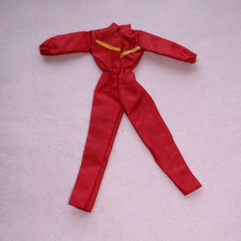 Authentic Pedigree Sindy 1982 Red Motorcycle Jumpsuit