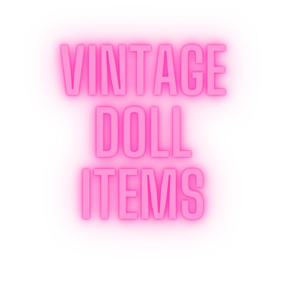 Vintage Dolls & Accessories
