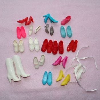 Barbie Shoes Mixed Lot