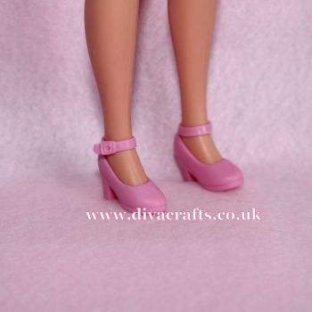 Ankle Strap Shoes Fits Pedigree Sindy - Pink