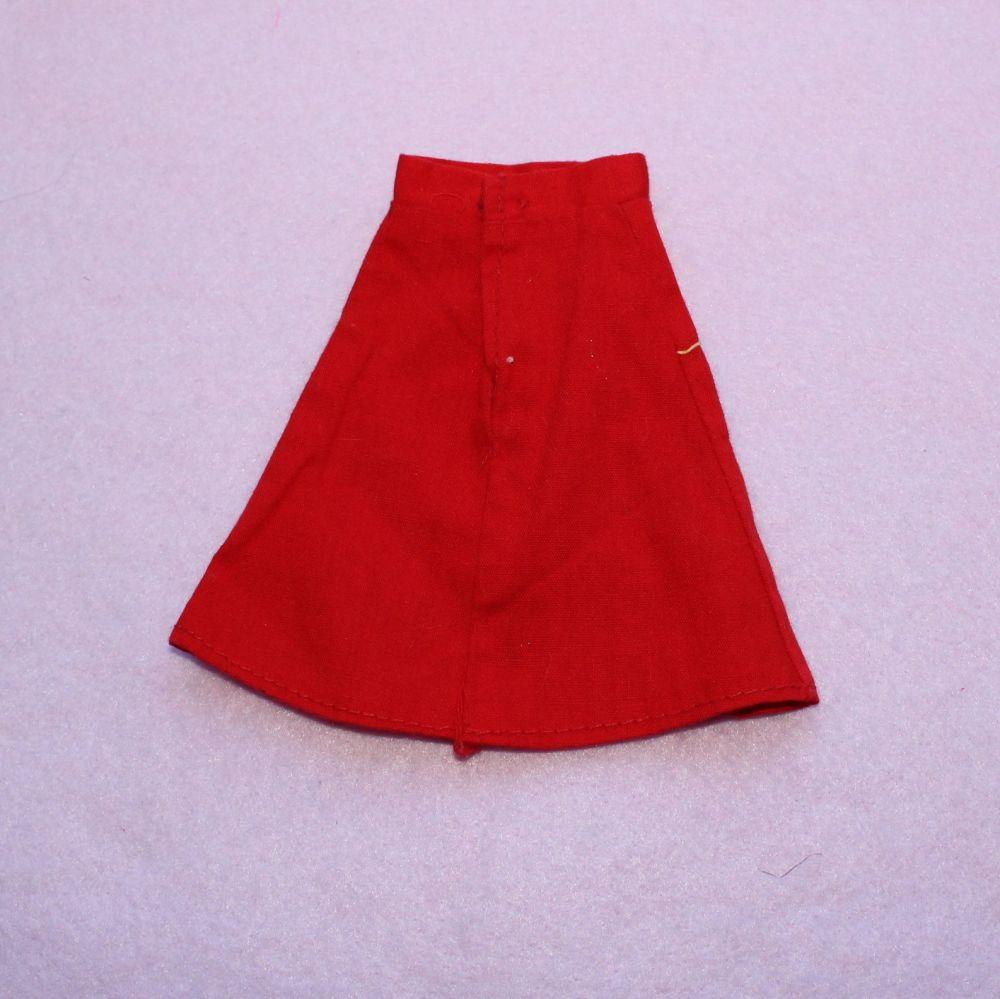 Unknown Brand Red Skirt