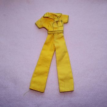 Authentic Pedigree Sindy 1980 Free Wheeling Jumpsuit