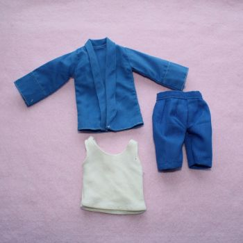 Authentic Pedigree Sindy Blue & White Items
