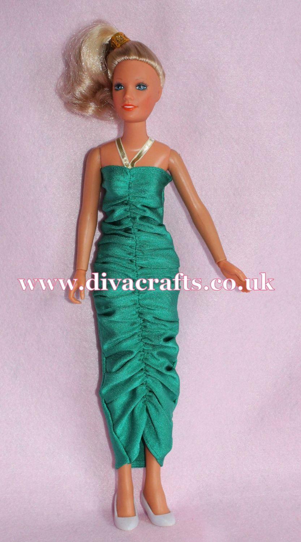 Handmade by Cazjar Kenner Darci Doll Fashion - Green Light Reproduction