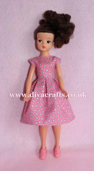 Handmade by Cazjar Pedigree Sindy Fashion - D13 Dress Only