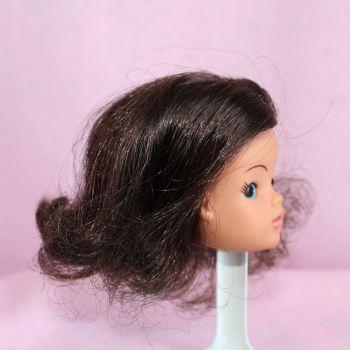 Pedigree Sindy Head - Brunette