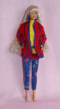 Mattel benetton Barbie
