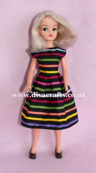 Handmade by Cazjar Pedigree Sindy Fashion - D17 Dress Only