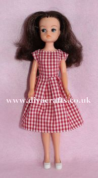 Handmade by Cazjar Pedigree Sindy Fashion - D19 Dress Only