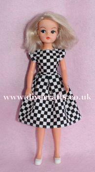 Handmade by Cazjar Pedigree Sindy Fashion - D21 Dress Only