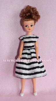 Handmade by Cazjar Pedigree Sindy Fashion - D22 Dress Only