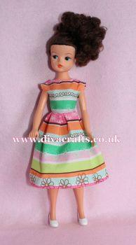 Handmade by Cazjar Pedigree Sindy Fashion - D23 Dress Only