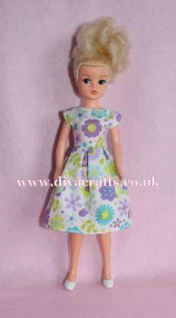 Handmade by Cazjar Pedigree Sindy Fashion - D24 Dress Only
