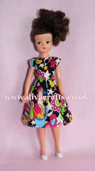 Handmade by Cazjar Pedigree Sindy Fashion - D25 Dress Only