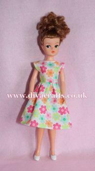 Handmade by Cazjar Pedigree Sindy Fashion - D26 Dress Only