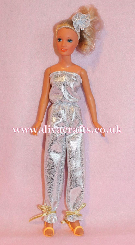 Handmade by Cazjar Kenner Darci Doll Fashion - Disco Jumpsuit Reproduction