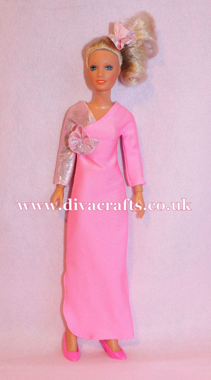 Handmade by Cazjar Kenner Darci Doll Fashion - In the Pink Reproduction