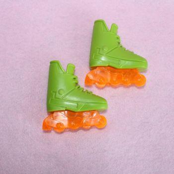 Roller Skates Pair of Green Mens (ken?)