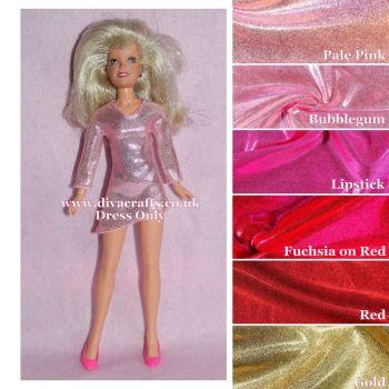 Handmade by Cazjar JEM Fashion Hasbro OR Integrity - Jem Dress Only