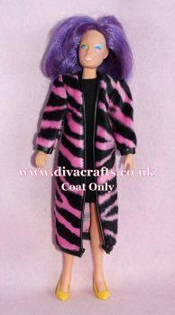Handmade by Cazjar JEM Fashion Hasbro - K12 Coat Only