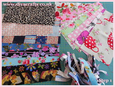 diva crafts free project fabric box