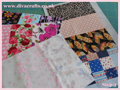 diva crafts free project fabric box (2)