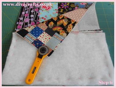diva crafts free project fabric box (5)