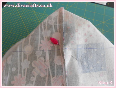 diva crafts free project fabric box (7)