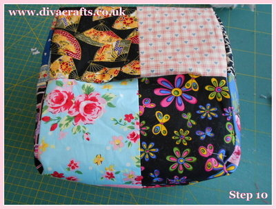 diva crafts free project fabric box (9)