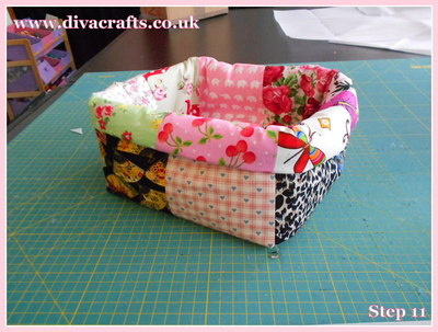 diva crafts free project fabric box (10)