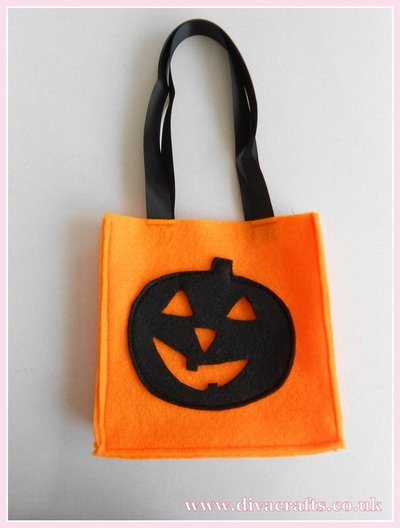 halloween bag part 7 diva crafts