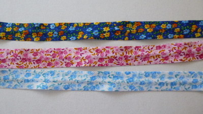 patterend bias binding diva crafts