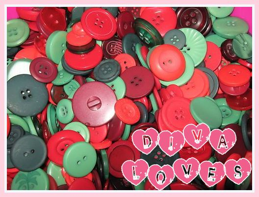 christmas buttons diva loves week 1