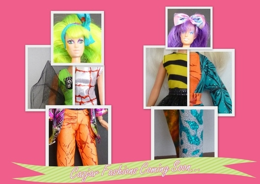 Jem custom Doll Fashions by Cazjar Diva Crafts
