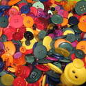 75g Autumn Mix Craft Buttons