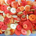 75g Sunshine Mix Craft Buttons