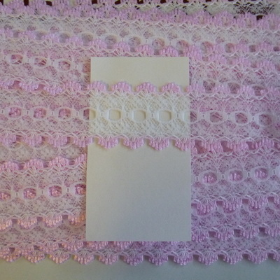 Knitting In Lace - Pink