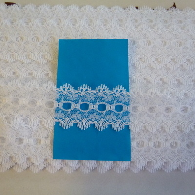 Knitting In Lace - All White