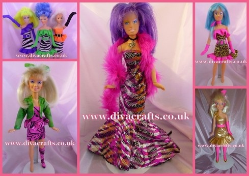 cazjar jem doll fashions diva crafts