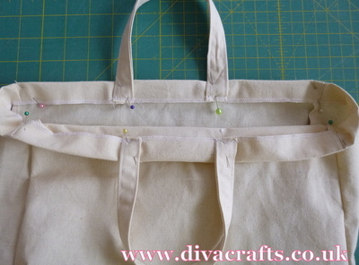 how to make a bag free diva crafts (10)