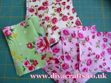 fabric flower free project diva crafts (1)