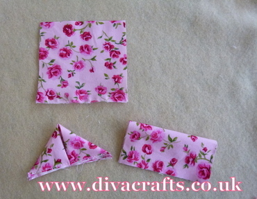 fabric flower free project diva crafts (2)