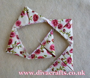 fabric flower free project diva crafts (4)